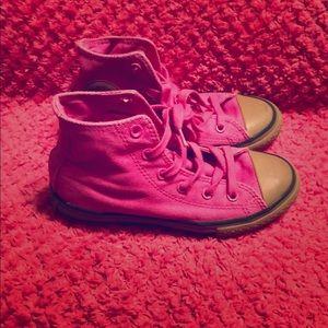 Converse Size 1 Little Girl Shoes